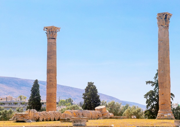 Temple of Zeus by WanderlustJourney.ca